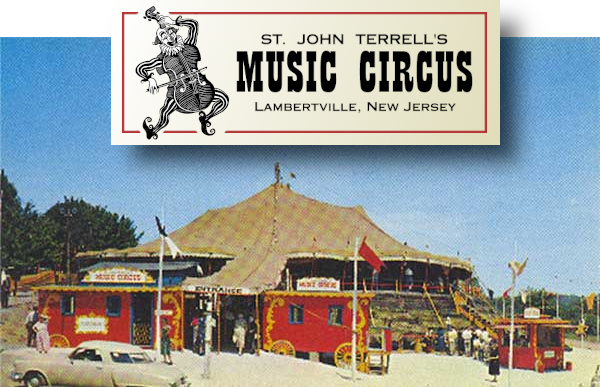 The original theater tent